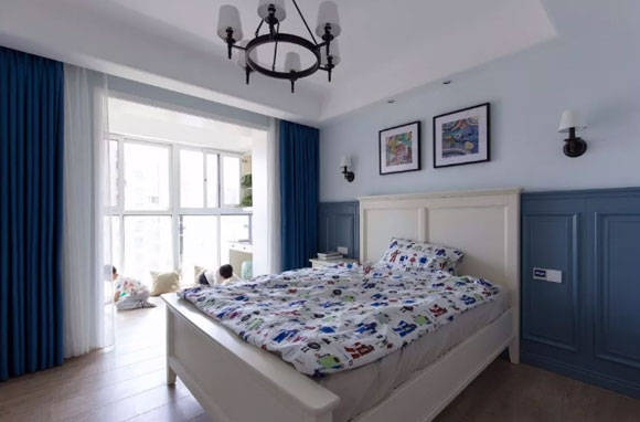 卧室带阳台,隔绝怎样设计?这11套带阳台的卧室