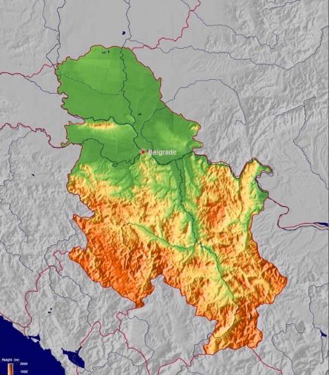 塞尔维亚经济总量_塞尔维亚地图