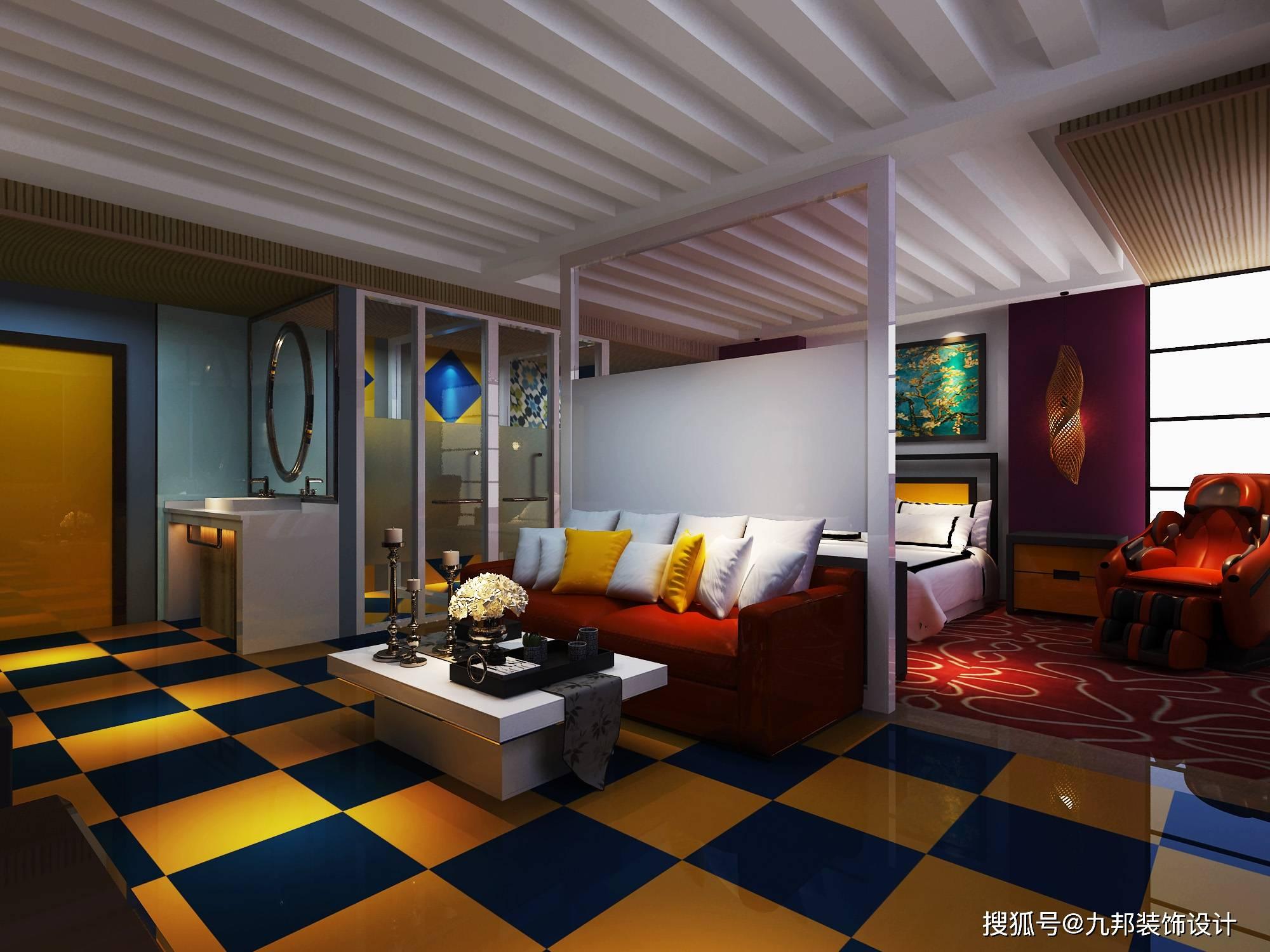 广州办公室装修公司 酒店会所装修设计公司 三宏装饰