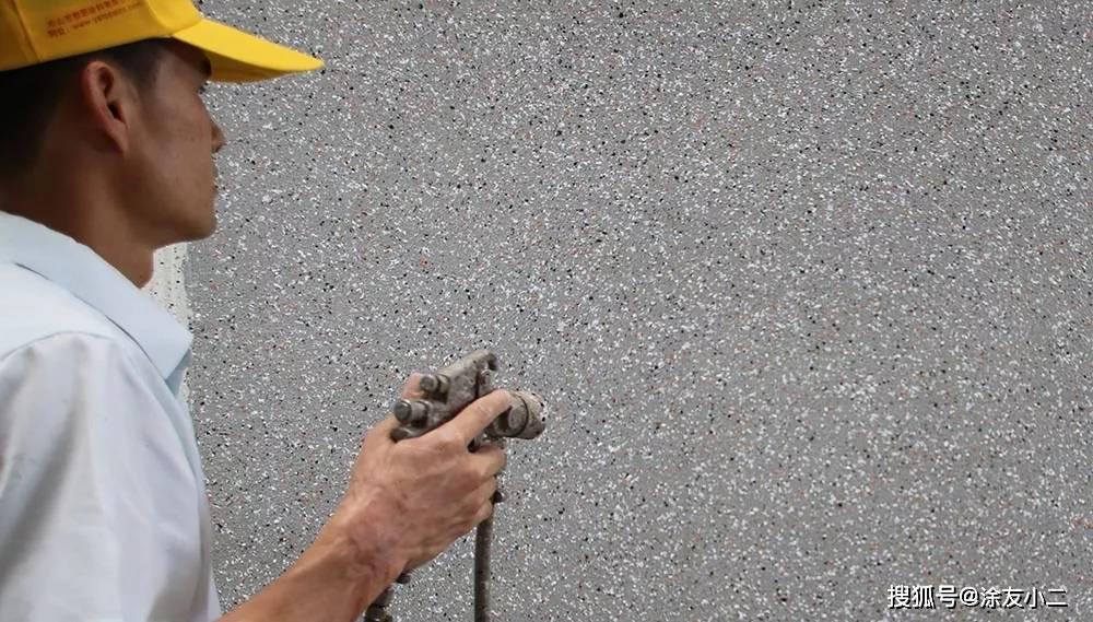 仿石漆如何喷涂匀称?记着这几点轻松喷涂出优