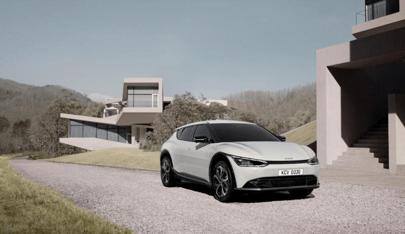 曲面屏是亮点 起亚首款专属电动车型EV6