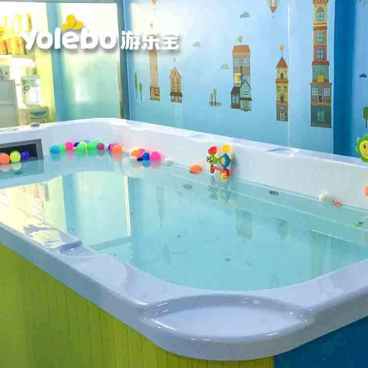 婴儿游泳馆上新游泳池开展亲子早教!
