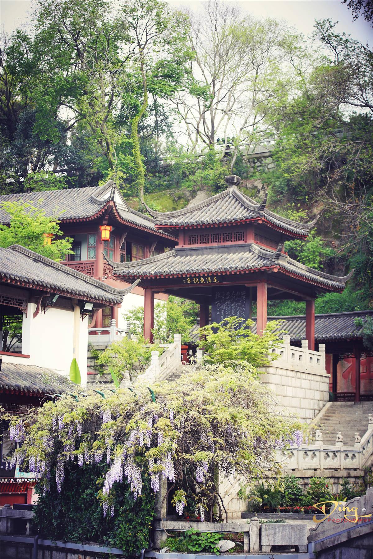 天下绝景黄鹤楼,雄踞长江之滨,蛇山之首,被称天下江山第一楼