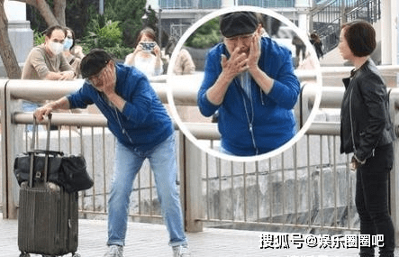 杨幂前公公拍戏被踢!演技不输刘恺威,77岁仍老当益壮