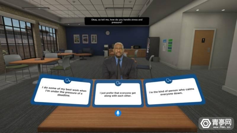 与埃森哲合作,Goodwill用VR帮助前科犯练习面试