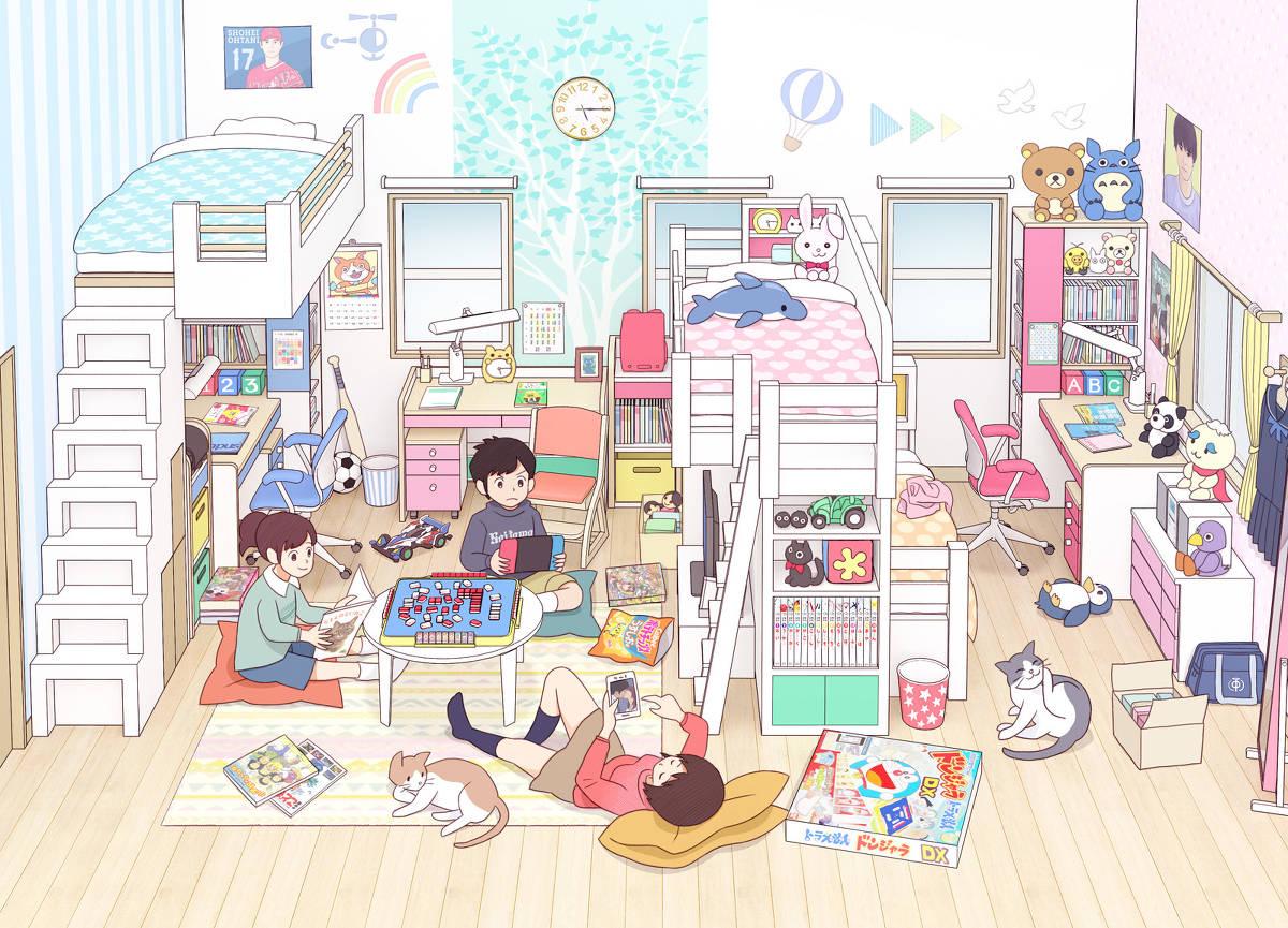 """日本画师笔下的""""青春期""""热评却是:太日本了!高中生才不这样插图7"""
