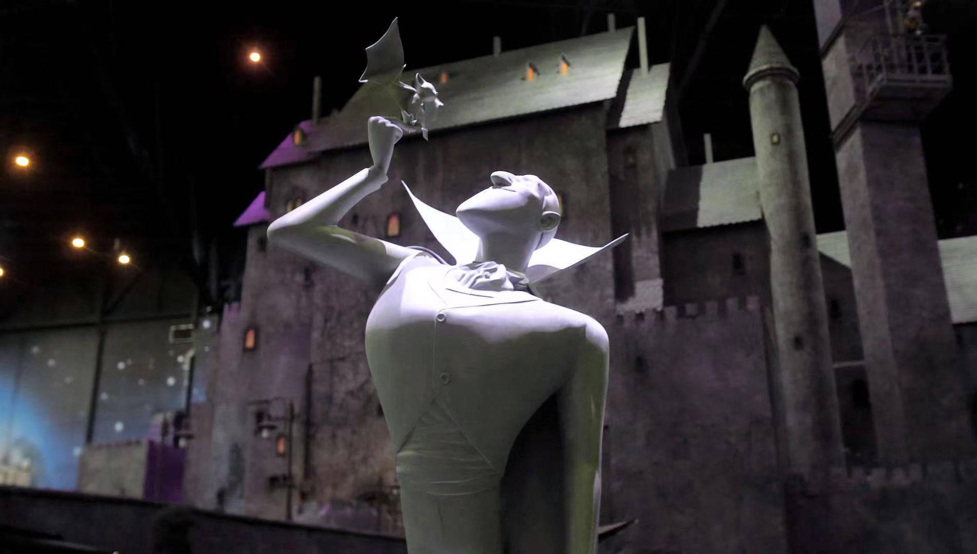 索尼影业《精灵旅社》落户莫斯科主题乐园 德古拉伯爵变身导游