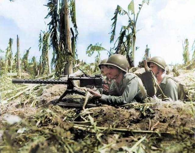 二战美军M2式重机枪:太平洋岛屿战的反坦克利器