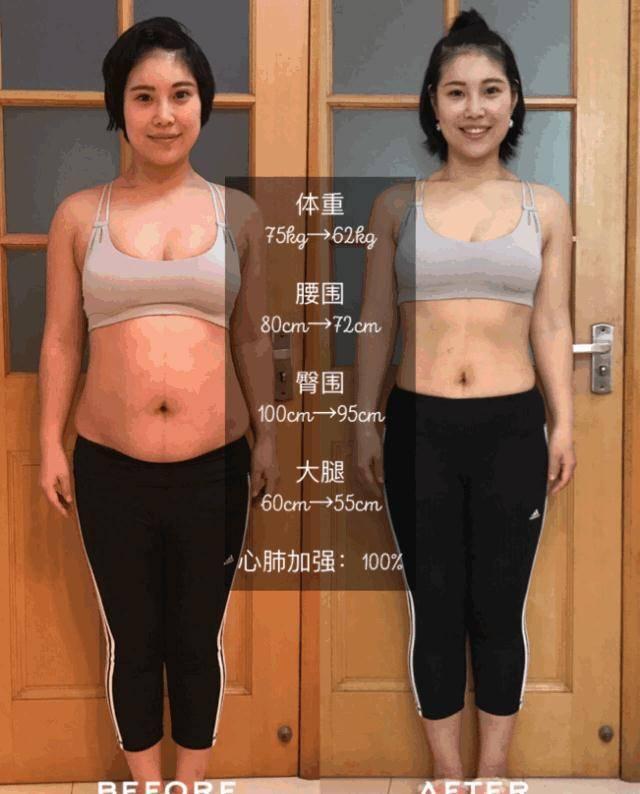 健身改变了她