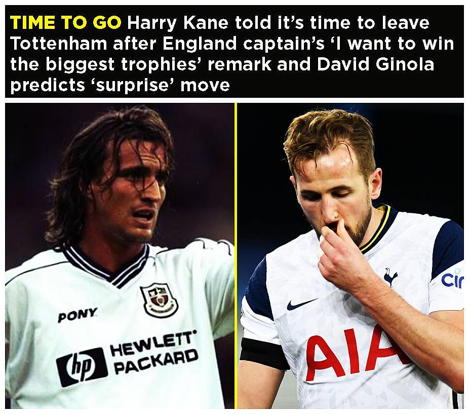 原创             热刺名宿吉诺拉:凯恩会去一家伦敦俱乐部 但肯定不会是阿森纳