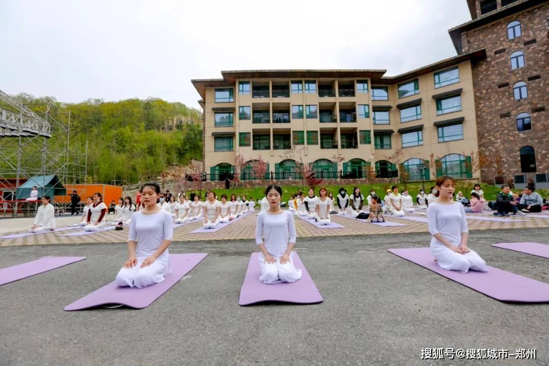 """白云山森林瑜伽,开启健康愉悦的""""五一""""假期生活。"""