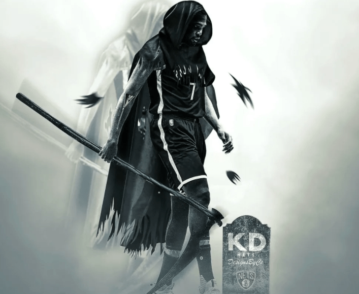 NBA直播:篮网vs雄鹿 死神杜兰特重新征战,手中镰刀早已按耐不住!