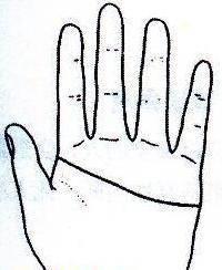 """秘传手相古相法精解:手相""""感情线""""、详细图文解析、值得收藏!  第7张"""