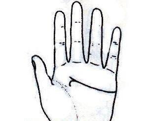 """秘传手相古相法精解:手相""""感情线""""、详细图文解析、值得收藏!  第13张"""