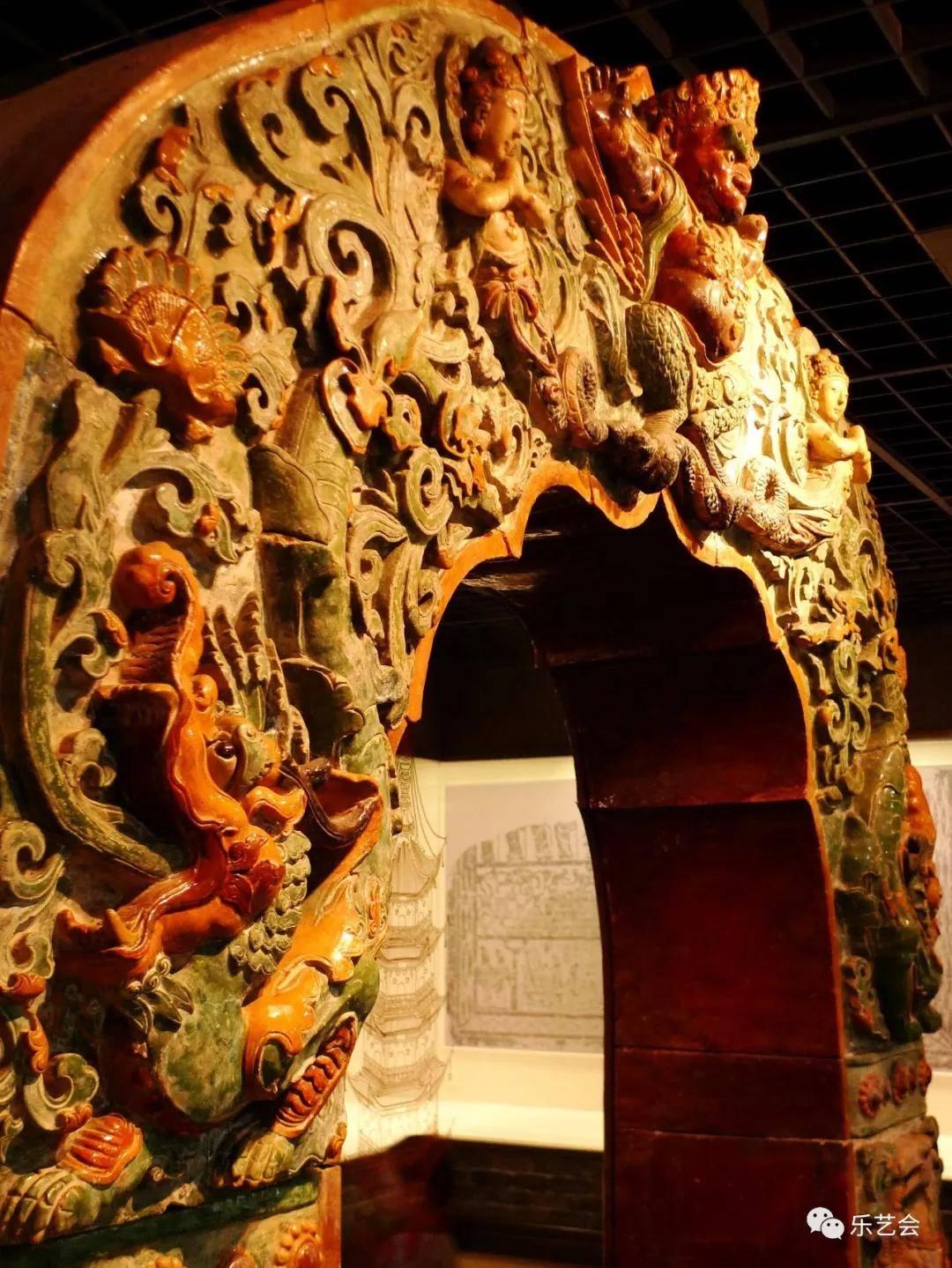 南京大报恩寺琉璃塔六拏具拱门艺术欣赏