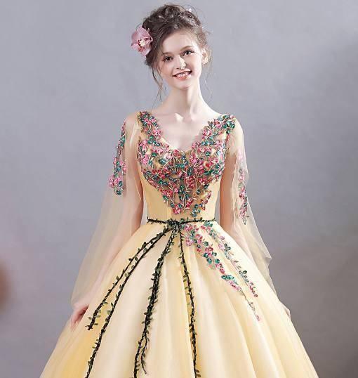 心理测试:4件花仙子裙子,哪件最仙?测你前世欠了什么情债?
