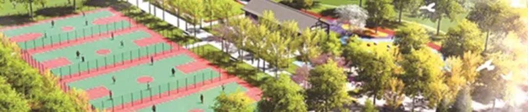 景观案例-体育公园景观设计