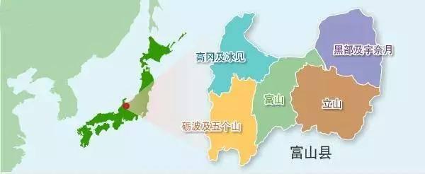 蓝胖子故乡日本富山县,小清新秘境的画风应该是这样的