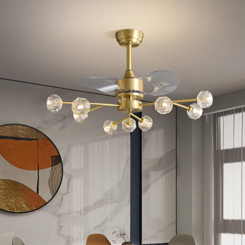 全铜北欧风扇灯 079983