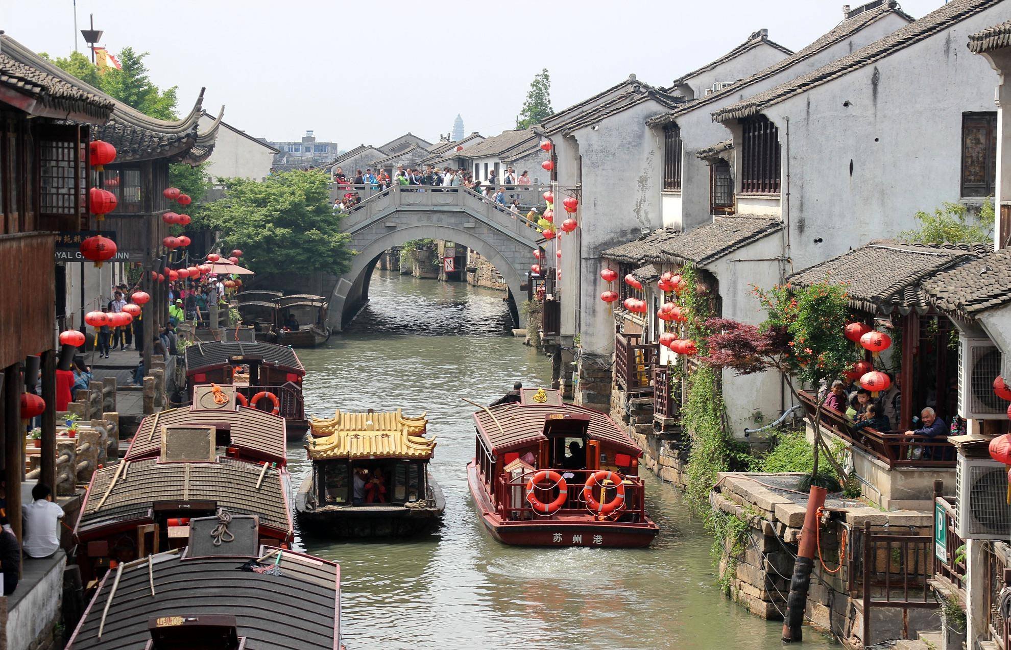 """国内拥有21084条河道的城市,被誉为""""东方威尼斯"""",就在江苏"""