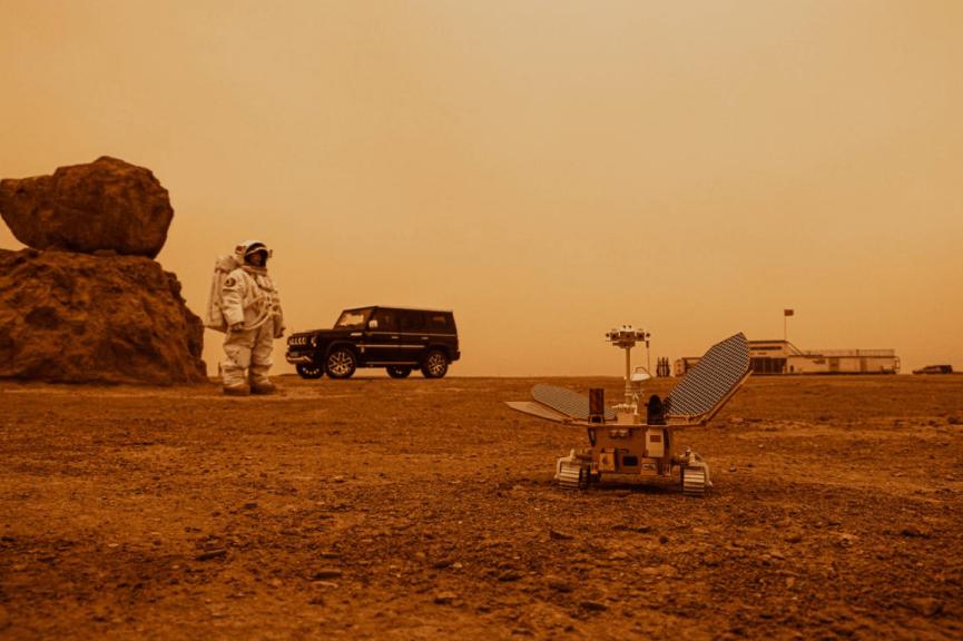 祝融号与老A组天地CP共赴火星未知之地