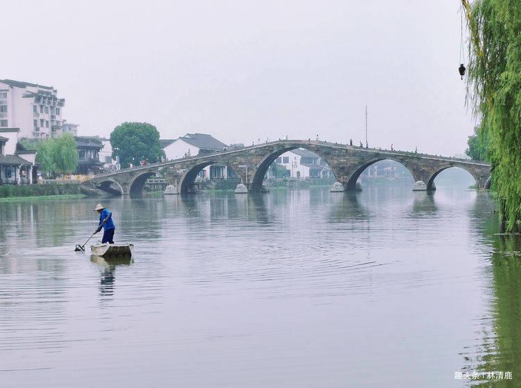 原创             靠一座桥撑起来的古镇:原生态没门票,曾是江南十大名镇之首