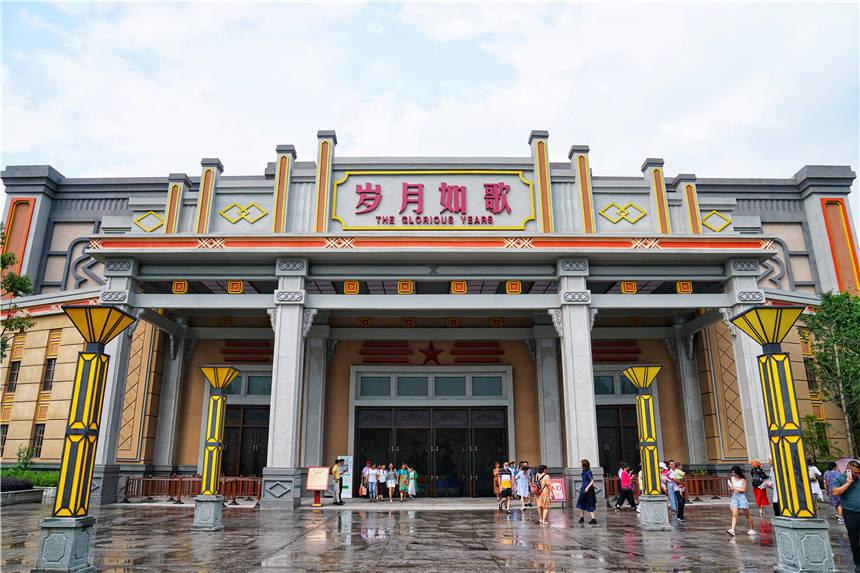 江西有个红色文化高科技公园,一秒穿越到民国,重温激情燃烧岁月
