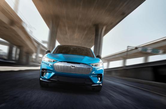 福特野马发布首款纯电动SUV,颜值盖过保时捷yf8