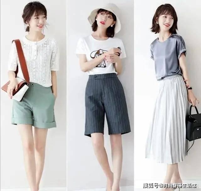 【夏季腿粗适合穿什么?】4款裤子时髦显瘦又有气质