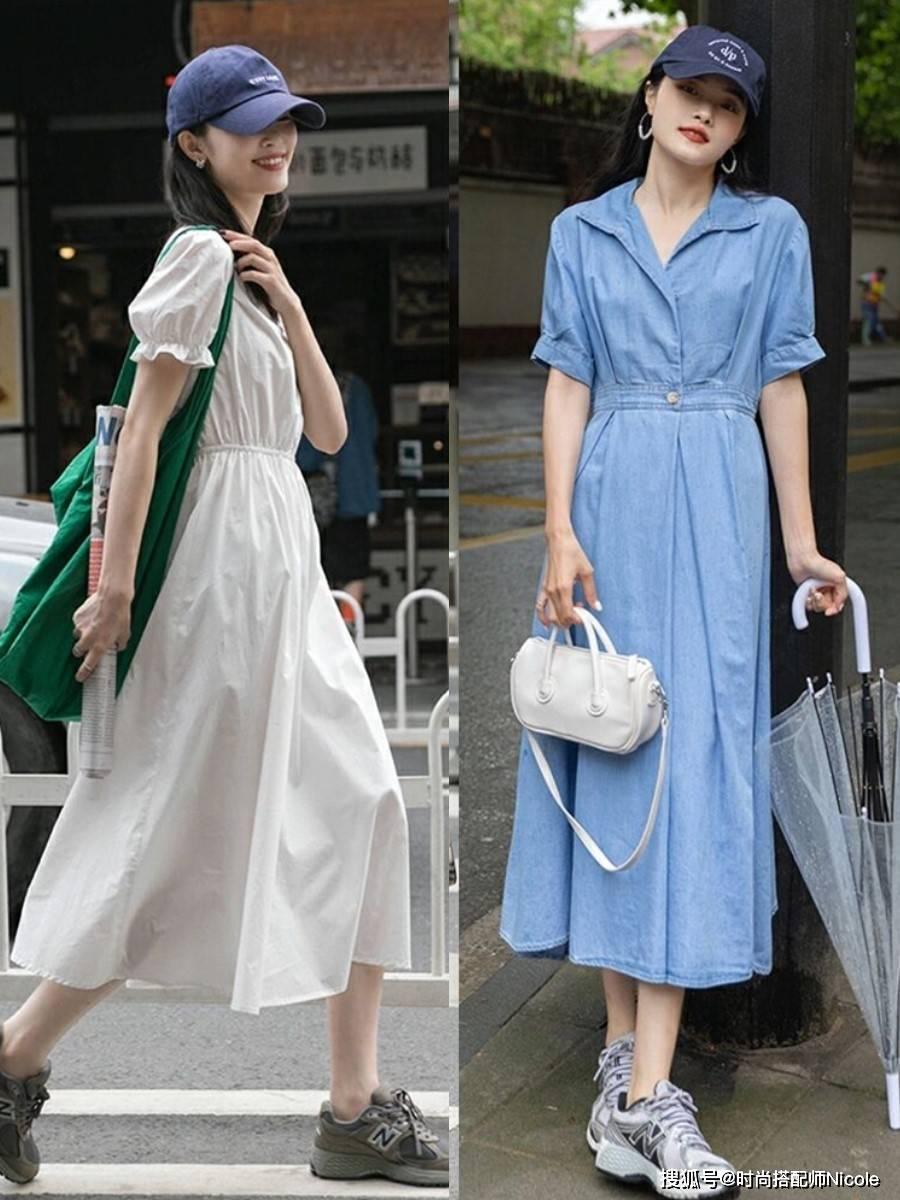今夏流行一種穿法:「穿長不穿短」,試試這幾條裙子,洋氣又顯瘦