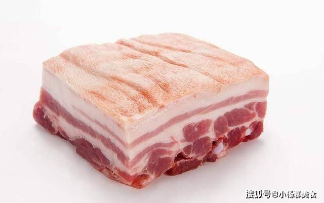 原創             紅燒肉極簡版,水和醬油都不要,挑食的兒子吃到連盤子都舔乾淨了
