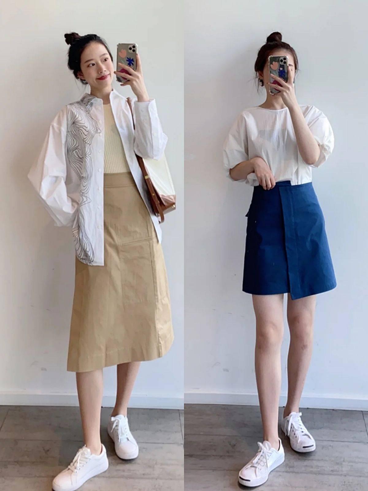 """优雅女人夏季更爱""""衬衫""""?配裤子裙子都好看普通人也能穿出高级感"""