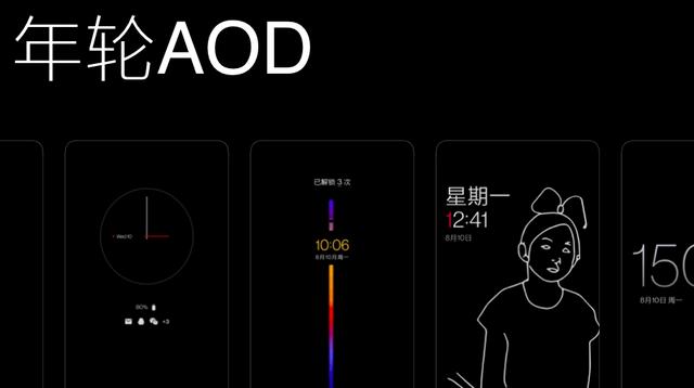 1号彩票在息屏显示的基本上实现了保持常亮、显示更多信息等成果