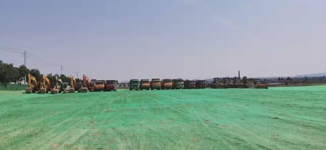 白水杜康万吨基酒建设项目正式开工
