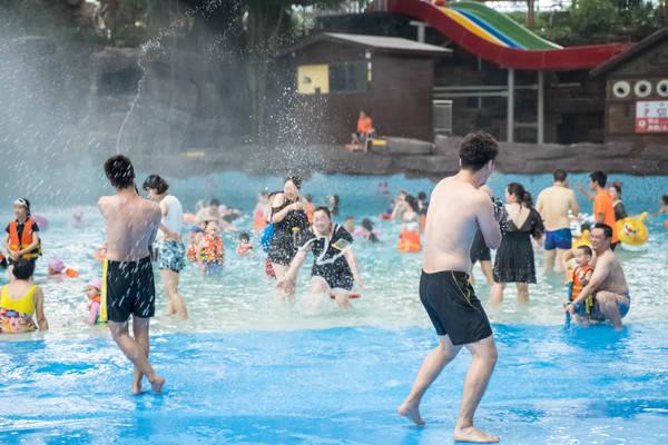 原创             自驾绍兴,去东方山水乐园度嗨玩一夏
