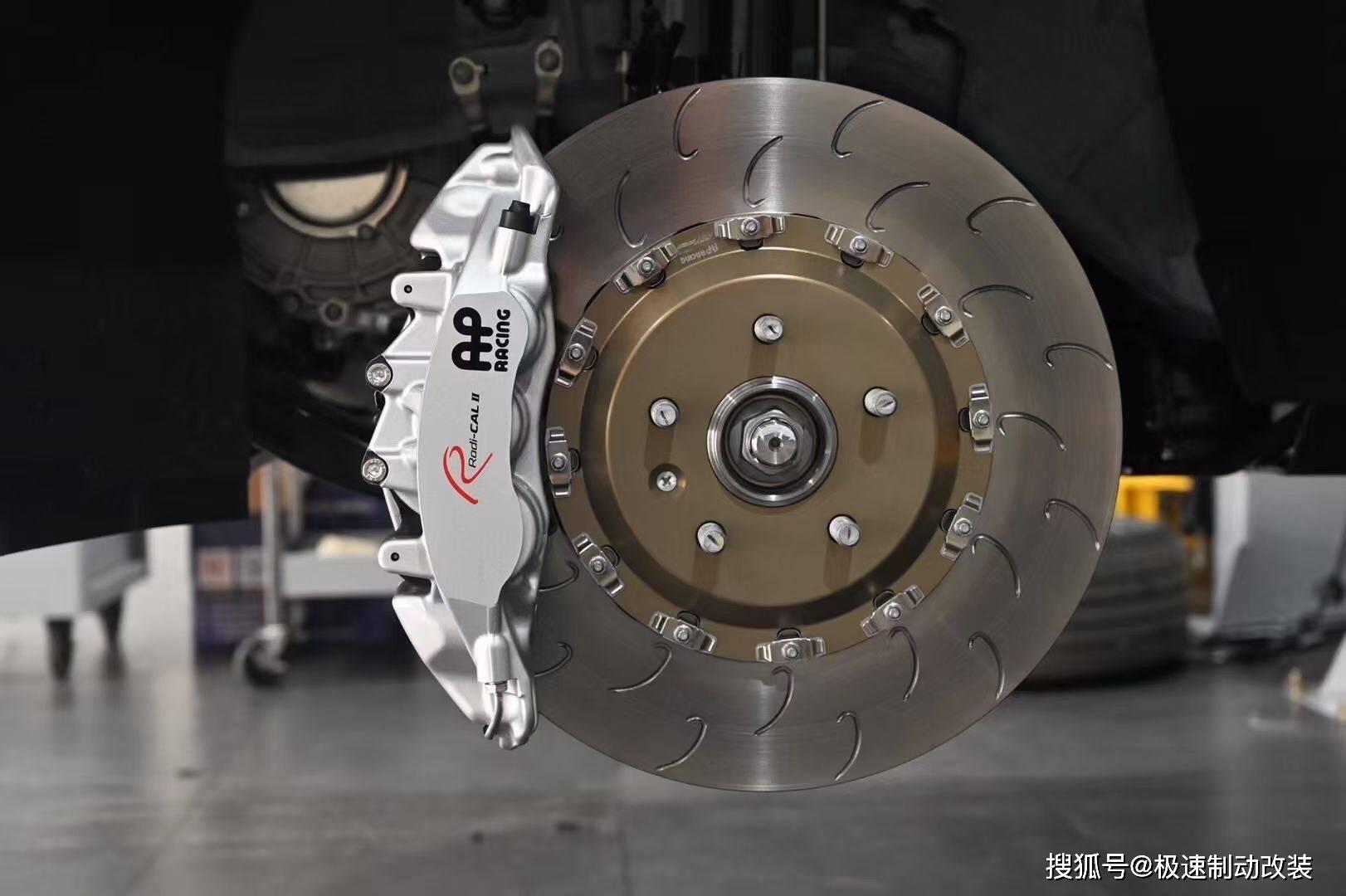 理想ONE刹车升级前轮Ap9560六活塞卡钳,行车安全,制动为上!adf