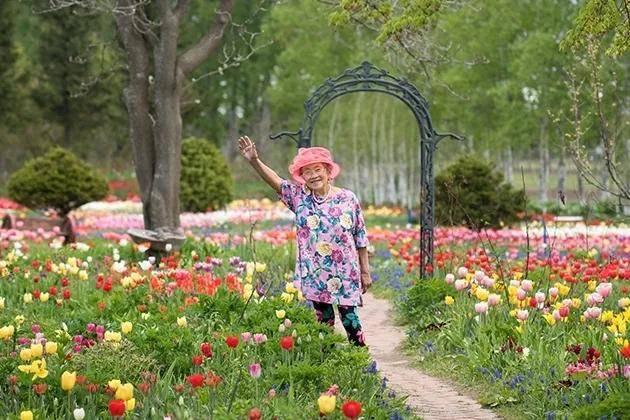 94岁,她在60000㎡花海中永远睡去,手中还握着一把芫荽种子……