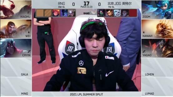 RNG已经六连胜(还有人觉得Cryin只是一盘菜)