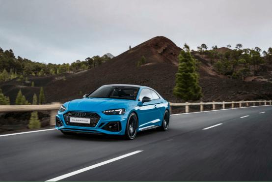 时尚运动的新奥迪RS 5 Coupé正式上市,开启新的性能车市场
