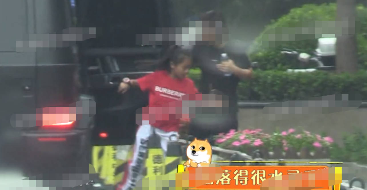 图片[5]-贾乃亮开车接女儿学舞蹈,甜馨大长腿身材优越,和爸爸一起心情好-番号都