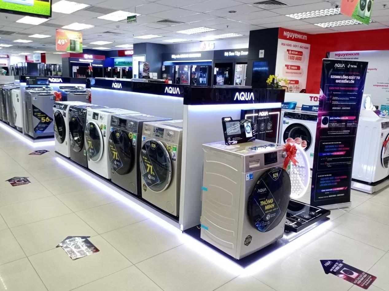 在越南:海尔智家全自动洗衣机连续3月、累计4个月市场份额第一