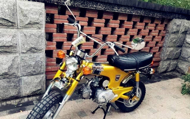 本田经典50cc摩托,油耗1L,小巧迷你,堪比大众甲壳虫