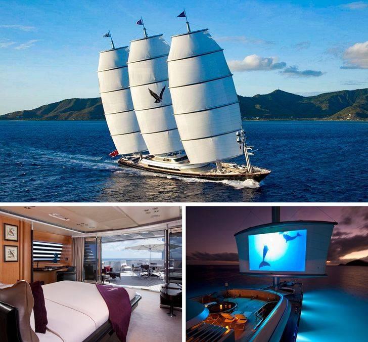 当人们成为亿万富翁时,你会不会买下这9艘酷炫奢华的游艇