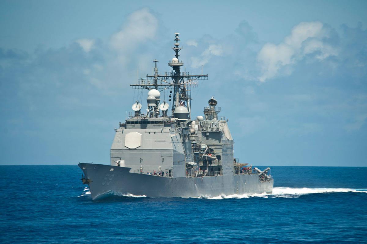 搭载宙斯盾作战系统,美海军巡洋舰虽战力强大,但有明显缺陷 !
