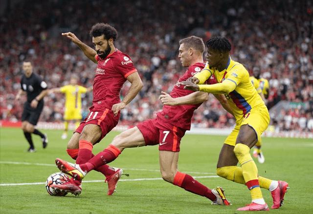 马内、萨拉赫建功,凯塔世界波 利物浦3-0水晶宫登顶积分榜
