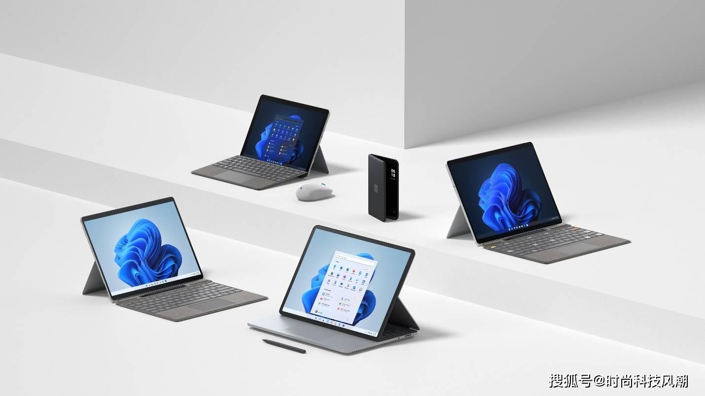 微软发布全新 Surface 系列产品,为 Windows 11 而打造