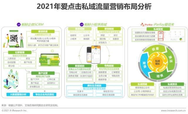 2021年中国私域流量营销技术服务商案例研究