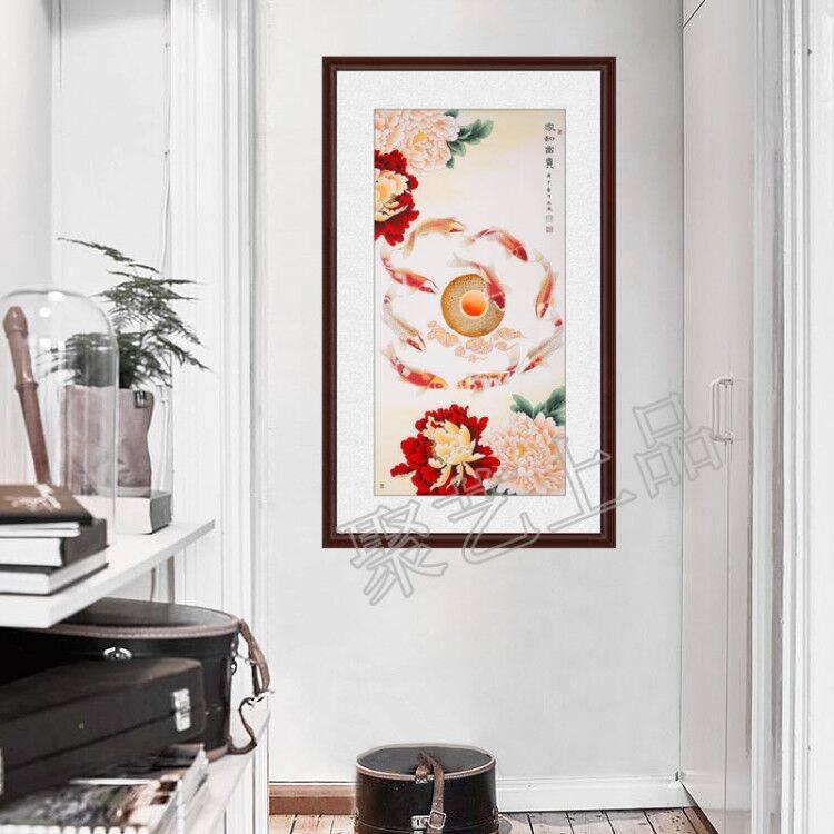 玄关画挂什么图最好 最旺入门玄关画