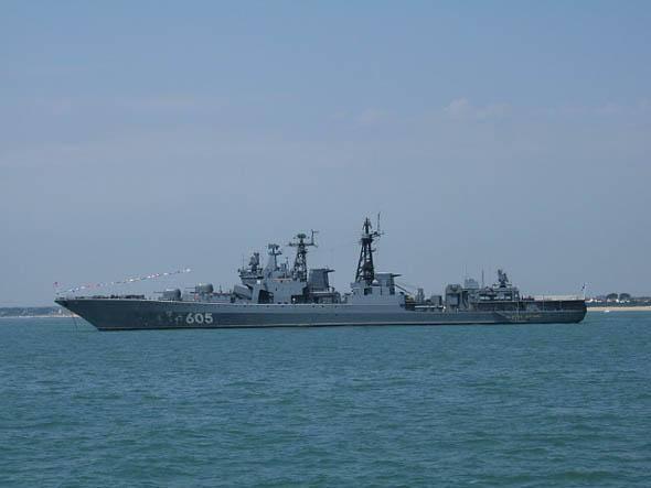 俄顶级反潜专用驱逐舰:无畏级驱逐舰到底有何先进之处?
