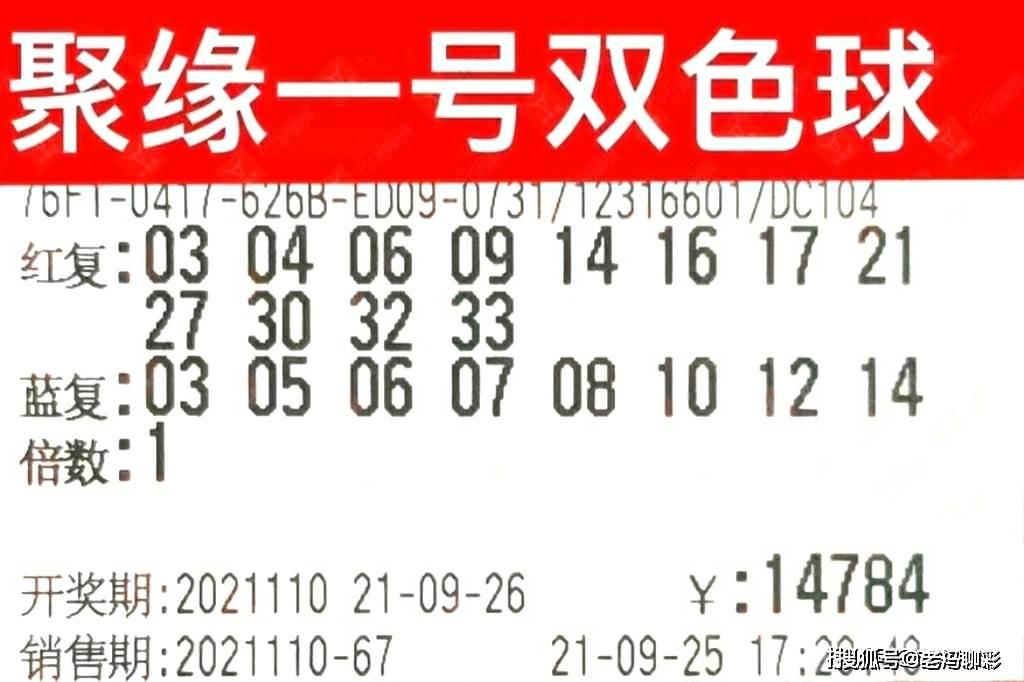 双色球110期晒票,万元大复式精彩呈现,期待惊喜到来